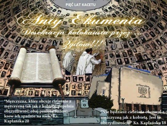 Desekracja Holokaustu przez ... Żydów-2