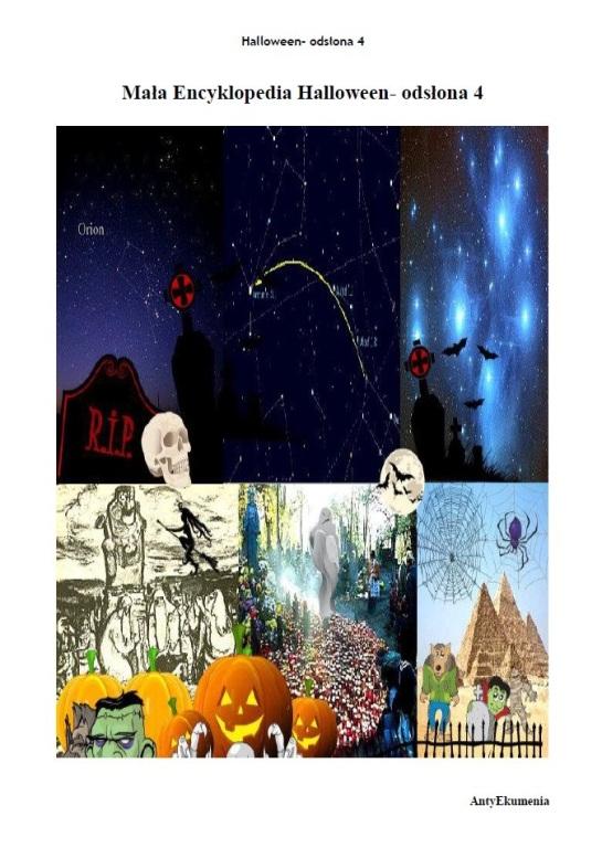 Mala Encyklopedia Halloween- odslona 4