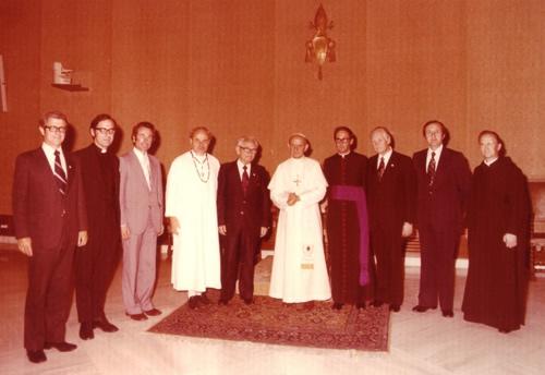 David du Plessis w Watykanie