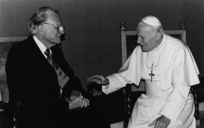 billy graham wojtyla